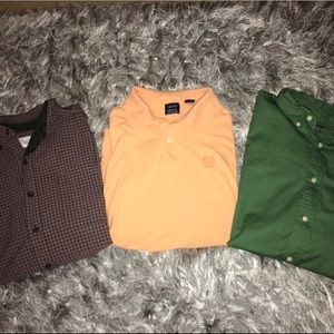Lot of 3 men's shirts